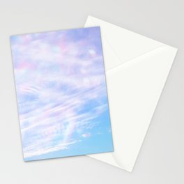 confetti sky Stationery Cards