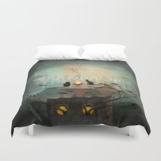 As time goes by ... Duvet Cover