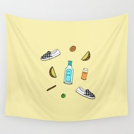 drew barrymore Wall Tapestry