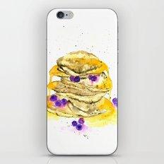 fluffy pancake iPhone & iPod Skin