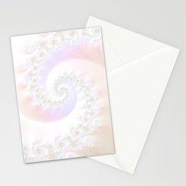 Ocean Treasure -- Mother of Pearls Mandelbrot Stationery Cards