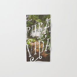 Pura Vida Costa Rica Jungle Life Caribbean Type Hand & Bath Towel