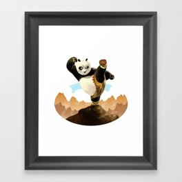 KUNG FU PANDA Framed Art Print