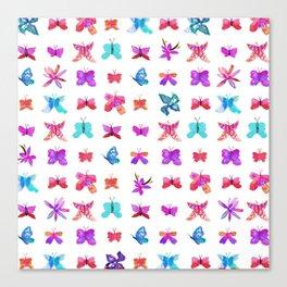 Teeny Butteflies Canvas Print