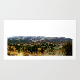 Manitou Springs, Colorado Art Print