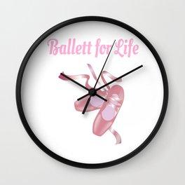 Ballett for Life Wall Clock