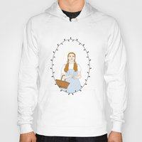 dorothy Hoodies featuring Dorothy Gale by Whiteland