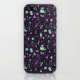 Magical Miscellanea Pattern iPhone Skin