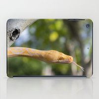 monty python iPad Cases featuring Python in park by TOGrey