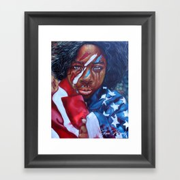 Dear America II Framed Art Print