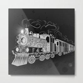 A nostalgic train Metal Print