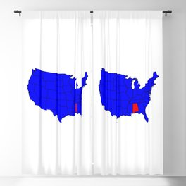 State of Alabama Location Blackout Curtain