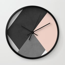 Contemporary art IX Wall Clock