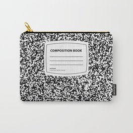 Composition Book Carry-All Pouch