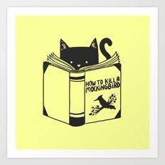 How To Kill a Mockingbird (Yellow) Art Print