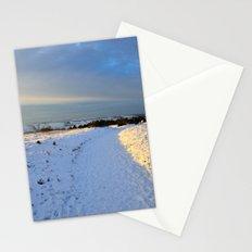 Lancashire Snow Scene Stationery Cards