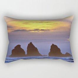 The Three Sentinels Rectangular Pillow
