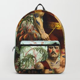 the strongest man of the world Backpack