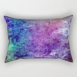 Cool Watercolor Rectangular Pillow