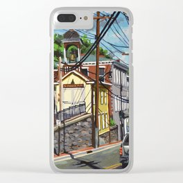 Ellicott City Flood Relief- Firehouse Museum Clear iPhone Case