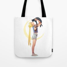 Usagi and Luna Tote Bag