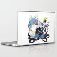 ursula Laptop & iPad Skins featuring Team Ursula by Citron Vert