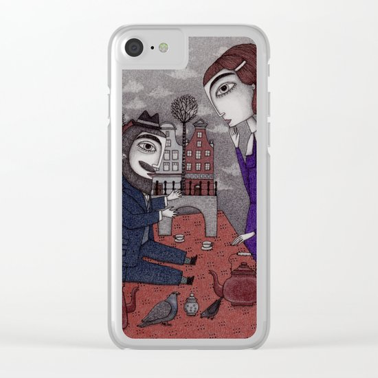 The Story Teller Clear iPhone Case