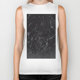 Gray Black Marble #1 #decor #art #society6 Biker Tank