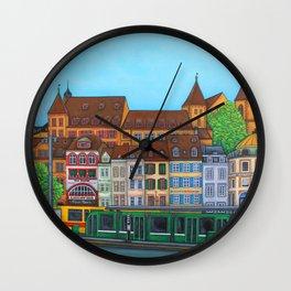 Barfüsserplatz Rendez-vous Wall Clock