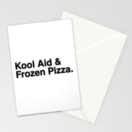 KOOL AID & FROZEN PIZZA Stationery Cards