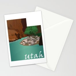 Utah: The Narrows Stationery Cards