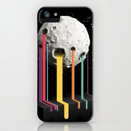 RainbowMoon iPhone Case