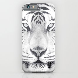 BW Tiger iPhone Case