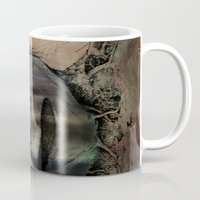 surreal Mugs featuring Surreal by Andreas Derebucha