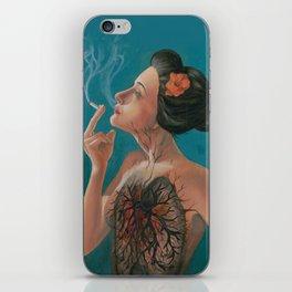 Smoking Hot Mess iPhone Skin