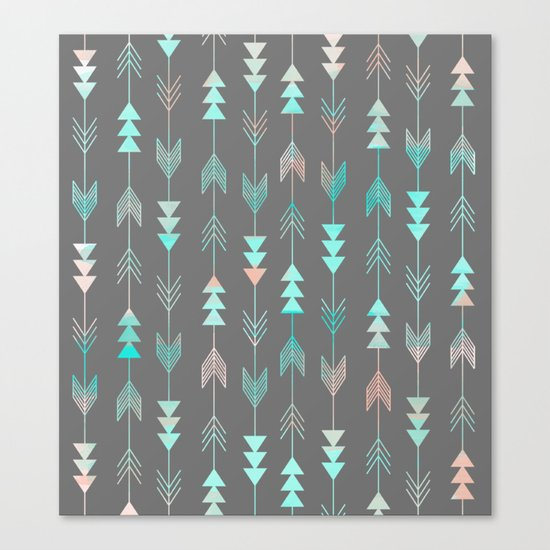 Aztec Arrows Canvas Print