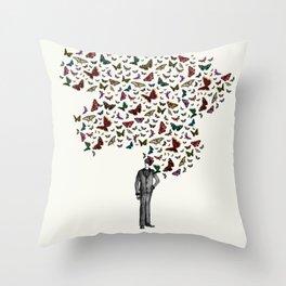 New York City Park Life Throw Pillow