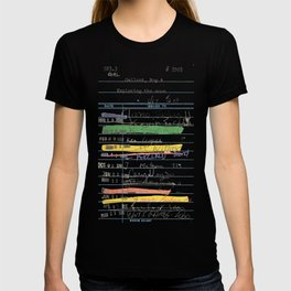 Library Card 3503 Exploring the Moon T-shirt