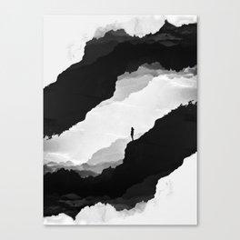 White Isolation Canvas Print