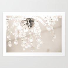 Crystals II Art Print