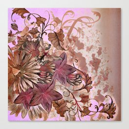 Floral Flourish Canvas Print