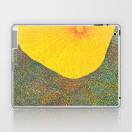 Here Comes the Sun - Van Gogh impressionist abstract Laptop & iPad Skin