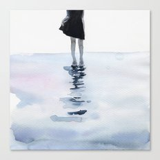 all around the sea Canvas Print