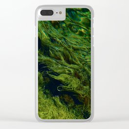 Microbe mush Clear iPhone Case