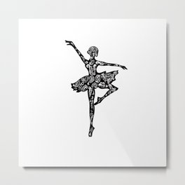 ballet beauty Metal Print