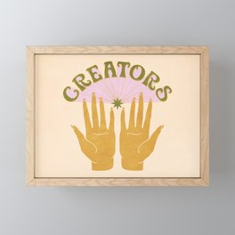 CREATORS Framed Mini Art Print
