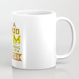 I'M A PROUD ELECTRICIAN'S MOM Coffee Mug