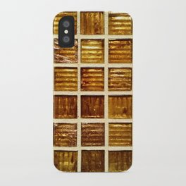 Thee Gold Tiles iPhone Case