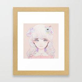 Cosmic Spring Framed Art Print