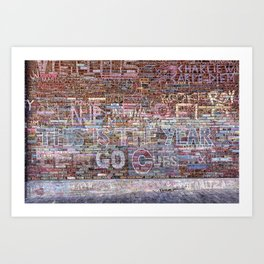 This is the year | Noriko Aizawa Buckles Art Print